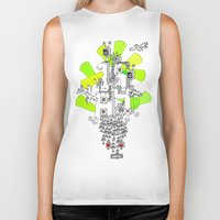 "1984 Biker Tanks featuring ""1984"" by Slight Gallery - Sightly Art for Sale"
