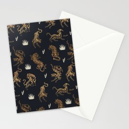Golden Tigers Stationery Cards