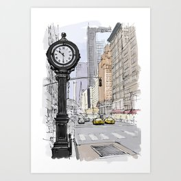 I have visited the city many years ago, I love New York Art Print