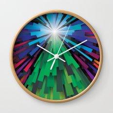 Light the tree Wall Clock