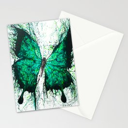 Night Garden Butterfly Stationery Cards