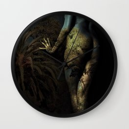 Midnight At The Oasis Wall Clock