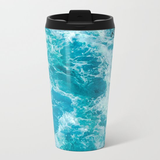 Sea Me Waving Metal Travel Mug