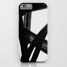 Shadow Lightning - Abstract Painting iPhone Case