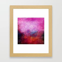Square Composition X Framed Art Print