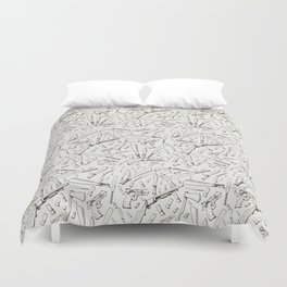 Apocalyptic Weapons  Duvet Cover