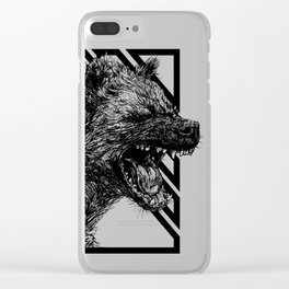 The Laughing Hyena Clear iPhone Case