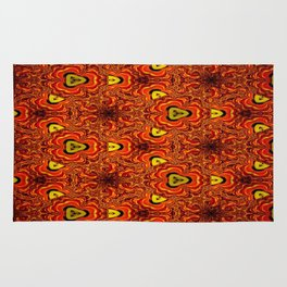 Concave Stature Pattern 6 Rug