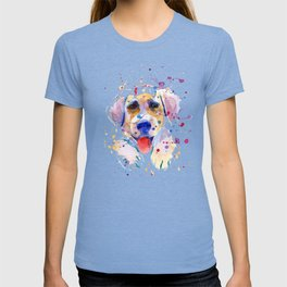 White labrador puppy portrait T-shirt