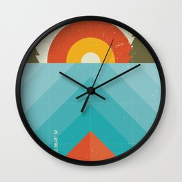 Niangua River Wall Clock