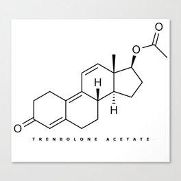 Bodybuilding: Trenbolone acetate Canvas Print