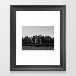 New York Skyline II Framed Art Print