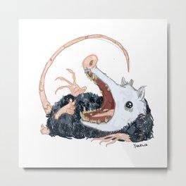 Possum Metal Print
