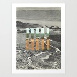 new horizons no.4 Art Print