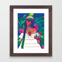 My Gringo Novio Framed Art Print