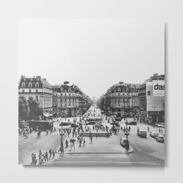 View of Paris Metal Print