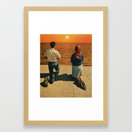 sun king Framed Art Print