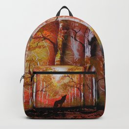 Howling Into The Woods Backpack