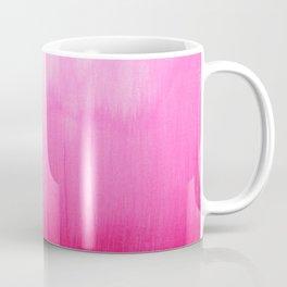 Modern fuchsia watercolor paint brushtrokes Coffee Mug