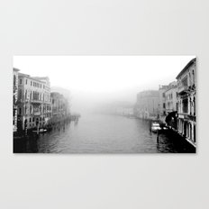 Fog in Venice Canvas Print