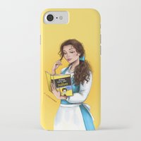 belle iPhone & iPod Cases featuring Belle by C. Cassandra