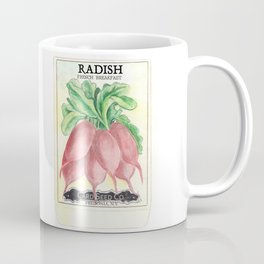 Radish Seed Packet Coffee Mug