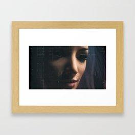 Day 0819 /// A.EYE learning Framed Art Print
