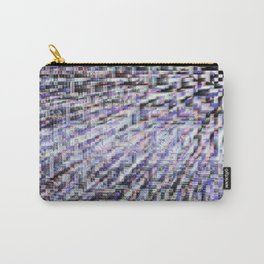 Gray Static Carry-All Pouch