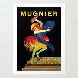 Mugnier Aperitif Advertisement Poster by Leonetto Cappiello Art Print