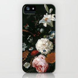 Antique Botanical I iPhone Case