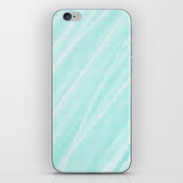 Cyan Waves Oceanside iPhone Skin