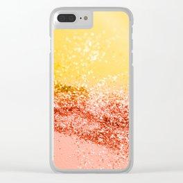 Tropical Summer Lady Glitter #2 #shiny #decor #art #society6 Clear iPhone Case