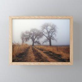 Road to Nowhere Framed Mini Art Print