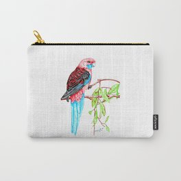 Blue Tail Parrot- Greenday Carry-All Pouch