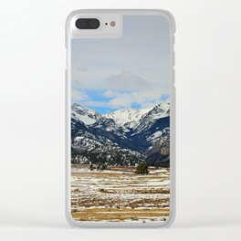 Whispering Winds Clear iPhone Case