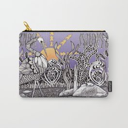 Zentangle Daylight in the Swamp Carry-All Pouch