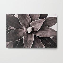 Geometric power of plants Metal Print