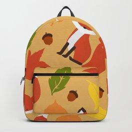 Fox Jumble - Beige Backpack