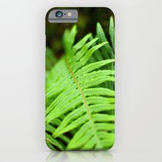 Green fern iPhone 6s Slim Case