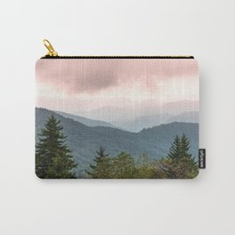 Great Smoky Mountain National Park Sunset Layers III - Nature Photography Carry-All Pouch