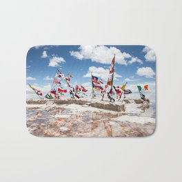 Salar de Uyuni International Flags Bath Mat