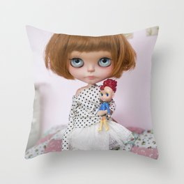 ERREGIRO CUSTOM BLYTHE DOLL SIO Throw Pillow