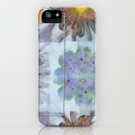 Unsuitably Unveiled Flower  ID:16165-120704-85951 iPhone Case