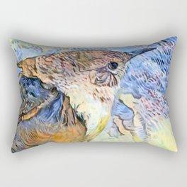 Sing Little Wren Rectangular Pillow