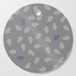 ginkgo pattern Cutting Board