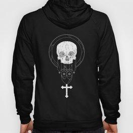 Anti-Church Death Metal Skull Hoody