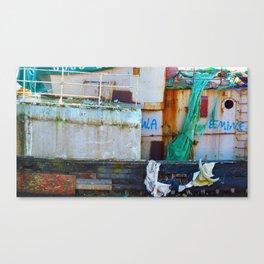 Destroyed Canvas Print