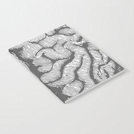Brain vintage illustration Notebook