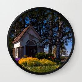 Wannenmacher´s chapel Wall Clock