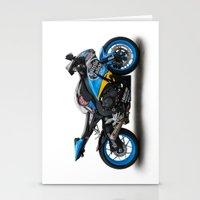 honda Stationery Cards featuring Honda CBR fireblade. by cjsphotos